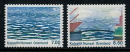 Groenland 2010 // La Vie Au Bord De Mer  Timbres Neuf ** MNH Y&T 540-541 - Groenland