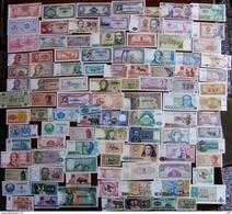 Lot De 100 Billets De Banque Tous Neufs Et Tous Différents à 21 € !!!! - Billets
