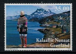 Groenland 2010 // 70ème Anniversaire De La Reine Margrethe II Timbre Neuf ** MNH Y&T 542 - Neufs