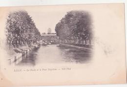 CPA - 13. LILLE - La Deule Et Le Pont Napoléon - Lille