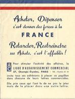 """Tracte De 1939 """"Acheter Dépenser C'est Donner Des Forces à La France"""" - 1939-45"""