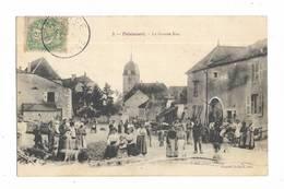 70  - POLAINCOURT - La Grande Rue - Belle Animation. - Autres Communes