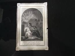 CANIVET ANCIEN DENTELLE HISTOIRE DE TARCISIUS BOUMARD LACE HOLY CARD SANTINI DEVOTIEPRENTJE GESU IMAGE PIEUSE - Santini