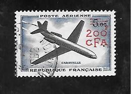 TIMBRE OBLITERE DE LA REUNION DE 1961 N° MICHEL 419 - Used Stamps
