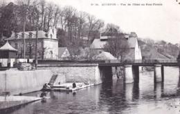 29 - Finistere -  QUIMPER - Vue De L Odet Au Pont Firmin ( Lavandieres ) - Quimper