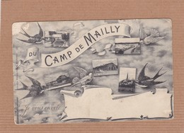 CPA 10, Aube, Mailly-le-camp, Je Vous Envoie Du Camp De Mailly - Mailly-le-Camp
