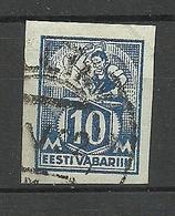 Estonia Estland 1922 Michel 39 B O - Estonia