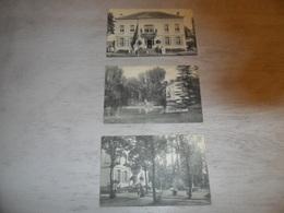 Uccle - St Job  Ukkel    Bruxelles  Brussel  - 3 Postkaarten Villa 253 à St Job ( Zie Tekst  Voir Texte ) - Ukkel - Uccle