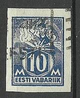 Estonia Estland 1922 Michel 39 B O - Estonie