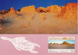 Willandra Lakes, Mungo National Park, New South Wales - Unused Prepaid Postcard - Autres