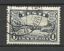 Estonia Estland 1933 Narva Water Fall Michel 98 O - Estonia