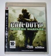 JEU PS3 CALL OF DUTY 4 MODERN WARFARE COMPLET / FONCTIONNE / FRANCE PAL - Sony PlayStation