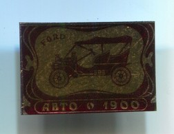 FORD - Car, Auto, Automotive, Vintage Pin, Badge, Abzeichen - Ford
