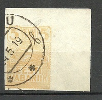 Estland Estonia 1919 Seagull Michel 5 O Nice Corner Exemplar - Estonia