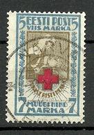 Estland Estonia 1922 Michel 30 A O Gut Gestempelt NARVA - Estland