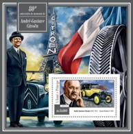 Sao Tome 2015  André-Gustave Citroën ,cars - Sao Tome And Principe