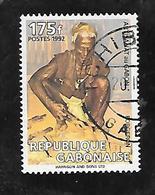 TIMBRE OBLITERE DU GABON  DE 1992 N° MICHEL 1108 - Gabon (1960-...)