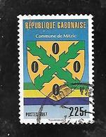TIMBRE OBLITERE DU GABON  DE 1997 N° MICHEL 1342 - Gabon (1960-...)