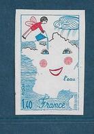 France Timbres De 1981  N°2125a  Non Dentelé Neuf **gomme Parfaite - Francia