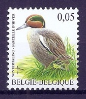 BELGIE * Buzin * Nr 3623 * Postfris Xx *  WIT  PAPIER - 1985-.. Birds (Buzin)