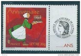 """FR Personnalisés YT 3778A """" Anniversaire, Bécassine - Cérès """" 2005 Neuf** - Personalized Stamps"""