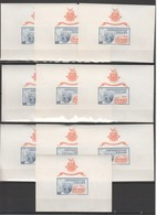 N004 !!! IMPERFORATE 1965 GUINEE ART EXHIBITION NEW YORK 10BL MNH - Expositions Philatéliques