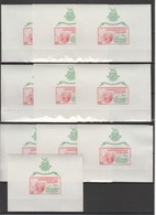 N005 !!! IMPERFORATE 1965 GUINEE ART EXHIBITION NEW YORK 10BL MNH - Expositions Philatéliques