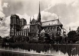 CPSM - PARIS - NOTRE-DAME - L'Abside - Notre Dame De Paris