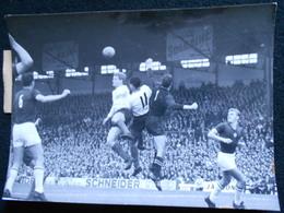 Photo Originale AGIP Robert Cohen Football Herbin , Cossou , Szentmihly   En 1964  KX (2) - Sports