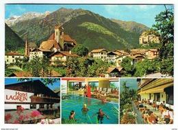 SCENA - SCHENNA (BZ):   HOTEL  LAGREIN  -  PER  LA  SVIZZERA  -  FG - Alberghi & Ristoranti