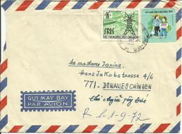 VIÊTNAM - 1972 - LETTRE DE HAI-PHONG À DONAUESCHINGEN (RFA) - Viêt-Nam