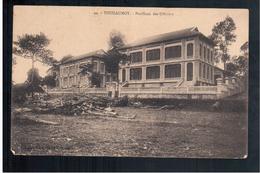 INDOCHINA Thudaumot Pavillons Des Officiers Ca 1910 OLD POSTCARD - Vietnam