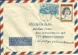 VIÊTNAM - 1973 - LETTRE DE HAI-PHONG À DONAUESCHINGEN (RFA) - Viêt-Nam