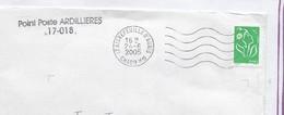 Region Saintes La Rochelle Jonzac Pons St Jean Angely 1 Lot Plus De 20 Lettres Relais Poste Et Agence Postale Communale - Annullamenti Meccaniche (Varie)