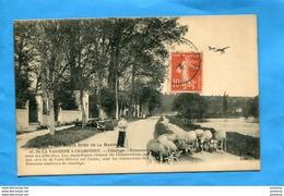 De La VARENNE à CHAMPIGNY- Moutons Bords De Marne-st  Hilaire-berger +aéroplane-animée   1916 -édition Fleury- - Autres Communes