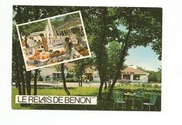 """COURCON - """"le Relais De Benon"""" Hôtel Restaurant - - France"""