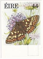 Fauna And Flora Series: MARSH FRITILLARY - Vlinder / Butterfly / Schmetterling / Papillon - (Eire - Ireland)  - 44P - Vlinders