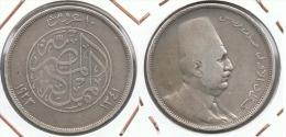EGIPTO 10 PIASTRAS 1923 PLATA SILVER - Egipto
