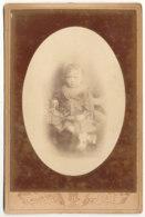 Enfant Photo108 X 164 - L.Muller-Rault Rue De Rivoli Paris - Anciennes (Av. 1900)
