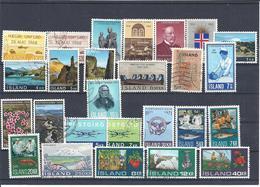 ISLANDE  Entre 1968//72  Y& T N° Entre 374 Et 420 - Collections, Lots & Séries