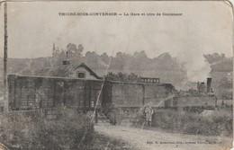 72 THOIRE SOUS CONTENSOR 1905 ? GARE TRAIN GROS PLAN - Otros Municipios