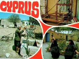 CPM - CHYPRE - Vie Traditionnelle - Multivues - Cyprus