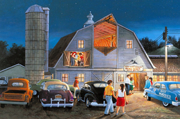№181.17 Postcard Modern Rare New Disco Dancing Entertainment Retro Car - Illustrators & Photographers