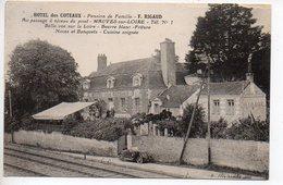 Hôtel Des Coteaux F. RIGAUD - Au Passage à Niveau Du Pont - Mauves Sur Loire - Mauves-sur-Loire
