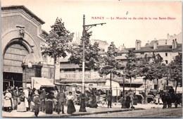 54 NANCY - Le Marché Coté Rue St Dizier. - Nancy