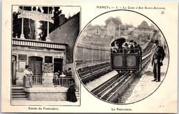 54 NANCY - Le Funiculaire Et Son Entrée. - Nancy