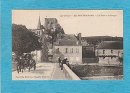 Montrichard. - Le Pont Et Le Donjon. - Attelage Calèche. - Montrichard