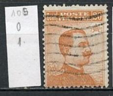 Italie - Italy - Italien 1917-22 Y&T N°105 - Michel N°131 (o) - 20c Victor Emmanuel III - Usados