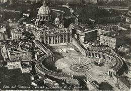 Città Del Vaticano, Piazza E Basilica Di San Pietro Veduta Aerea, St. Peter's Square And The Basilica Aerial View - Vaticano
