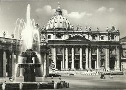 Città Del Vaticano, Piazza E Basilica Di San Pietro, St. Peter's Square And The Basilica - Vaticano